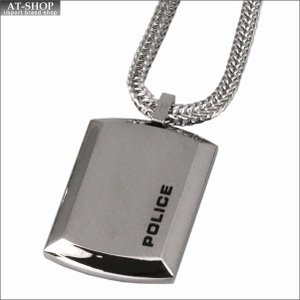 POLICE ポリス ネックレス ステンレス シルバー POLICE N PURIT 24920pss-a|at-shop