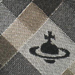 Vivienne Westwood ヴィヴィアン・ウェストウッド ネクタイ 8.5cm チェック柄 ブラック×グレー×ブラウン系 24T85-P19color1|at-shop|04