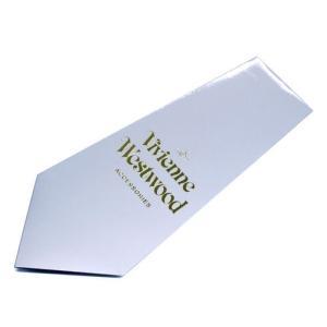 Vivienne Westwood ヴィヴィアン・ウェストウッド ネクタイ 8.5cm ブラウン×ブルーネイビー系 24T85-P38color1 at-shop 05