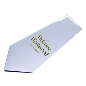 Vivienne Westwood ヴィヴィアン・ウェストウッド ネクタイ 8.5cm ブラウン×ブルーネイビー系 24T85-P38color1|at-shop|05