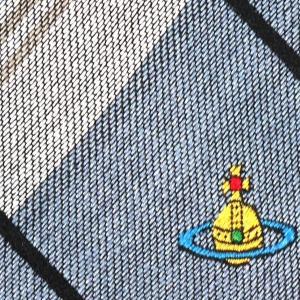Vivienne Westwood ヴィヴィアン・ウェストウッド ネクタイ 8.5cm チェック柄 ブルー系 24T85-P42color5|at-shop|04