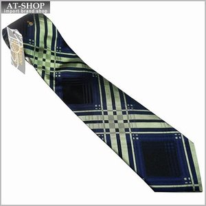 Vivienne Westwood ヴィヴィアン・ウェストウッド ネクタイ 8.5cm チェック柄 ネイビー×グリーン系 24T85-P43color2|at-shop