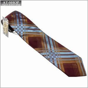 Vivienne Westwood ヴィヴィアン・ウェストウッド ネクタイ 8.5cm チェック柄 ブルー×ダークレッド系 24T85-P43color5|at-shop