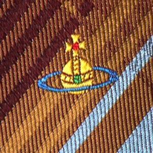 Vivienne Westwood ヴィヴィアン・ウェストウッド ネクタイ 8.5cm チェック柄 ブルー×ダークレッド系 24T85-P43color5 at-shop 04