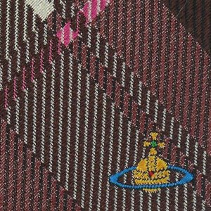 Vivienne Westwood ヴィヴィアン・ウェストウッド ネクタイ 8.5cm チェック柄 ピンク×レッド系 24T85-P50color3|at-shop|04