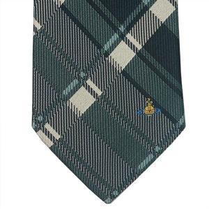 Vivienne Westwood ヴィヴィアン・ウェストウッド ネクタイ 8.5cm チェック柄 ライトグリーン系 24T85-P50color4|at-shop|03