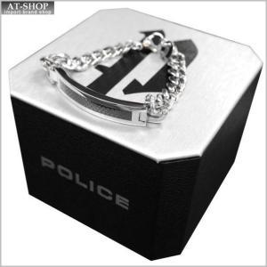 POLICE ポリス ブレスレット ステンレス シルバー POLICE B DETROIT 25141BSS01 at-shop