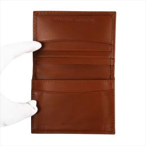 TOMMY HILFIGER トミー・ヒルフィガー 名刺入れ カードケース Highland ブラウン 31TL20X021 TAN|at-shop|02
