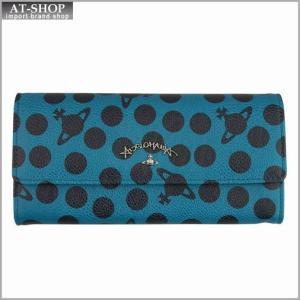 Vivienne Westwood ヴィヴィアン・ウェストウッド 財布サイフ 二つ折り長財布 グリーン 321227  GREEN|at-shop