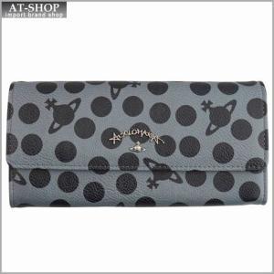 Vivienne Westwood ヴィヴィアン・ウェストウッド 財布サイフ 二つ折り長財布 グレー 321227  GREY|at-shop