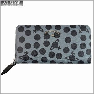 Vivienne Westwood ヴィヴィアン・ウェストウッド 財布サイフ ラウンドファスナー長財布 グレー 321228 GREY|at-shop