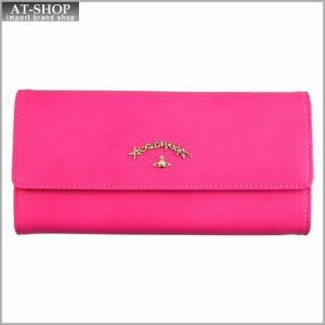 Vivienne Westwood ヴィヴィアン・ウェストウッド 財布サイフ 二つ折り長財布 ピンク 321233 PINK|at-shop