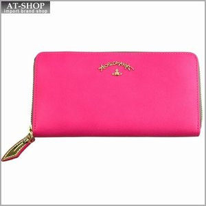 Vivienne Westwood ヴィヴィアン・ウェストウッド 財布サイフ ラウンドファスナー長財布 ピンク 321234 PINK|at-shop
