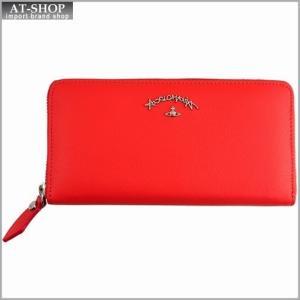 Vivienne Westwood ヴィヴィアン・ウェストウッド 財布サイフ レザー ラウンドファスナー長財布 レッド 321246 RED|at-shop