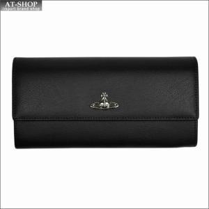 Vivienne Westwood ヴィヴィアン・ウェストウッド 財布サイフ NO,9 CAMBRIDGE 二つ折り長財布 321547 BLACK 17AW ブラック|at-shop
