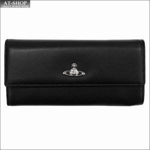 Vivienne Westwood ヴィヴィアン・ウェストウッド 財布サイフ NO,9 SHEFFIELD 二つ折り長財布 321555 BLACK 17AW ブラック|at-shop