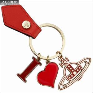 Vivienne Westwood ヴィヴィアン・ウェストウッド キーリング I LOVE ORB GADGET 321566 269 ORANGE オレンジ×ゴールド|at-shop