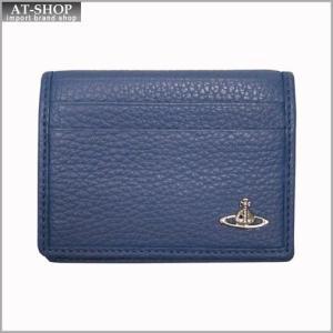 Vivienne Westwood ヴィヴィアン・ウェストウッド カードケース NO,8 MILANO 33.361 BLUE 17SS ブルー|at-shop