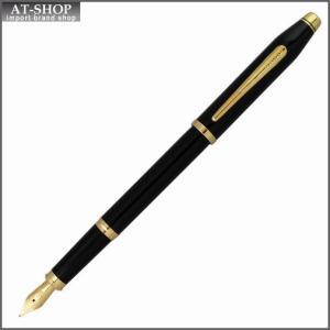 CROSS クロス 万年筆 センチュリーII ブラックラッカー ペン先 F:細字 419-1F|at-shop