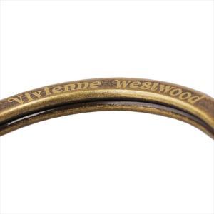 Vivienne Westwood ヴィヴィアン・ウェストウッド キーリング ブラウン×ブラス HAMMERED ORB BRASS GADGET 82030026 BROWN|at-shop|03