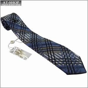 Vivienne Westwood ヴィヴィアン・ウェストウッド ネクタイ 8.5cm チェック柄 909013-C41-color0004 LIGHT BLUE|at-shop