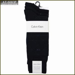 Calvin Klein カルバン・クライン ソックス 3足セット A91179-color41 ネイビー系 at-shop