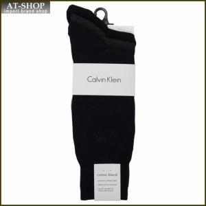 Calvin Klein カルバン・クライン ソックス 3足セット A91219-color97 ネイビー×2:グレー系 at-shop