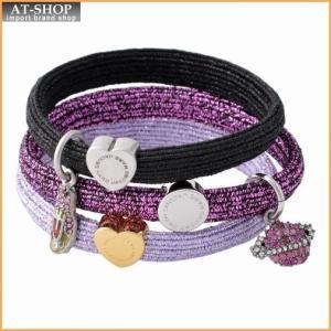 マークジェイコブス MARC JACOBS M0011859-501 Purple Multi クラスターポニー ヘアゴム3本セット ブレスレットにも♪ Space Pony|at-shop