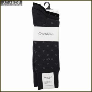 Calvin Klein カルバン・クライン ソックス 3足セット ACB175-color97 ブラック:グレー×2系|at-shop