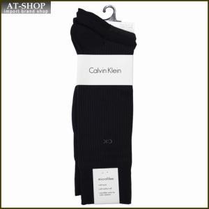 Calvin Klein カルバン・クライン ソックス 3足セット ACY170-color41 ネイビー系 at-shop