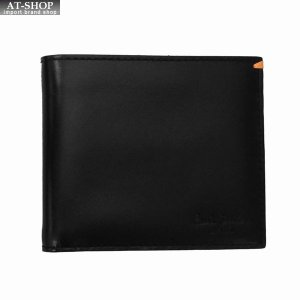 Paul Smith ポール・スミス 財布サイフ 二つ折り財布(小銭入れ無し) AHXJ2662 W510 B ブラック at-shop