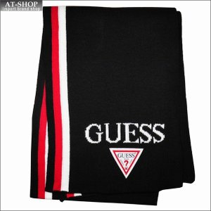 GUESS ゲス マフラー AI4A8853DS-RED ホワイト×レッド|at-shop