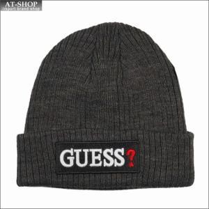GUESS ゲス ニットキャップ  GUESSは、1981年にアメリカのロサンゼルスで創業したプレミ...