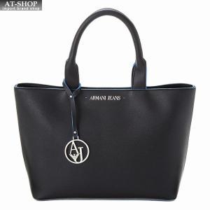 アルマーニジーンズ ARMANI JEANS トートバッグ 922531 CD856 00220 BLACK-BLUE|at-shop