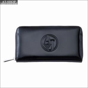 アルマーニジーンズ ARMANI JEANS ラウンドファスナー長財布 928532 CC850 00020 ブラック at-shop