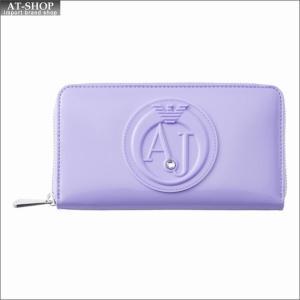 アルマーニジーンズ ARMANI JEANS ラウンドファスナー長財布 928532 CC855 00091 LILAC|at-shop
