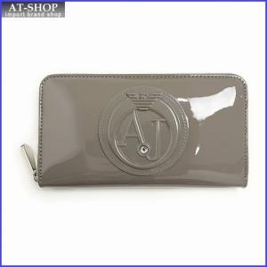 アルマーニジーンズ ARMANI JEANS 928532 CC855 07753 Taupe ラウンドファスナー長財布|at-shop