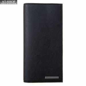アルマーニジーンズ ARMANI JEANS 二つ折り長財布 938543 CD991 00020 BLACKブラック at-shop