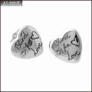 グッチ GUCCI 455255-J8400-0701 BLIND FOR LOVE ブラインド フォー ラブ ハートモチーフ スタッド ピアス|at-shop