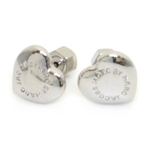 MARC BY MARC JACOBS マーク バイ マーク ジェイコブス ピアス ハートモチーフ ロゴ M3PE545-041 80083 ARGENTO at-shop