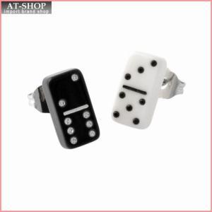 マークジェイコブス MARC JACOBS M0010748-002 Black Multi ドミノモチーフ スタッド ピアス Charms Paradise Mini Domino Studs|at-shop
