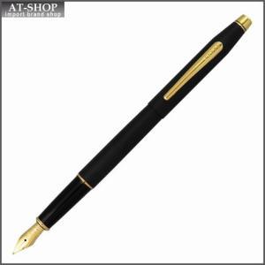 CROSS クロス 万年筆 クラシックセンチュリー クラシックブラック ペン先 F:細字 AT0086-110F at-shop