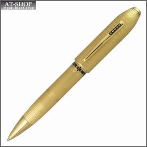 CROSS クロス ボールペン ピアレス125 スペシャルエディション 23金ゴールドプレート ロンドン AT0702-7 旧仕様:クリップロゴ部分が黒枠|at-shop