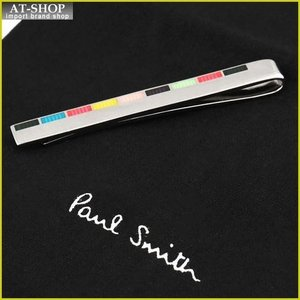 Paul Smith ポール・スミス ネクタイピン タイバー MEN TIE PIN ATPC_TPIN_FINER_96 シルバー×マルチカラー|at-shop