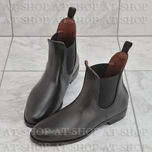 プレーンサイドゴア レインブーツ メンズ 雨靴 レインシューズ ATTM-001 ブラック サイズ:S|at-shop