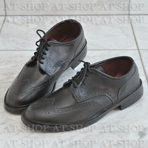 ウィングチップ レインシューズ メンズ 雨靴  ATTM-003 ブラック サイズ:L|at-shop