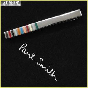 Paul Smith ポール・スミス ネクタイピン タイバー MEN TIE PIN ATXC-TPIN-REDGE-92 シルバー×マルチカラー|at-shop