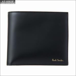 ポール・スミス PaulSmith 二つ折り財布 ミニクーパー AUPC 4833 W718A 79 Black|at-shop