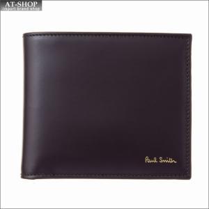 ポール・スミス PaulSmith 二つ折り財布 AUPC 4833 W761A 28 Oxblood|at-shop