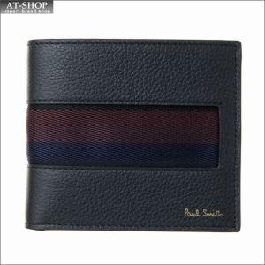 ポール・スミス PaulSmith 二つ折り財布 AUPC 4833 W885 79 Black|at-shop